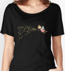 Whimsical Magic Fairy Princess Sprinkles Women's Relaxed Fit T-Shirt