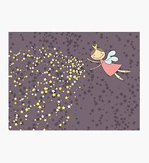 Whimsical Magic Fairy Princess Sprinkles Photographic Print