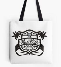 Back to Back Full Season Champions - Modern Tote Bag