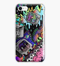 TV doodle  iPhone Case/Skin