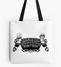 Back to Back Full Season Champions - Cartoon Tote Bag