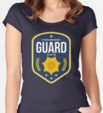 Litchfield Penitentiary : Guard  Women's Fitted Scoop T-Shirt