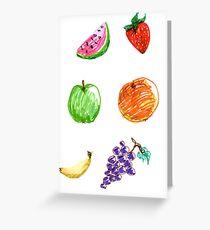 Fruity fun for everyone! Greeting Card