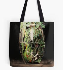 Flowers Drowning series - Gum and Geraldton Waxflower Tote Bag