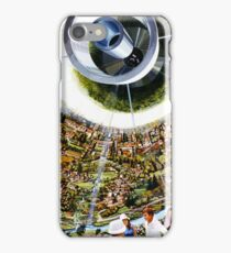 Space Colony - Suburb of the Future iPhone Case/Skin