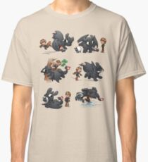 How Not to Train Your Dragon Classic T-Shirt