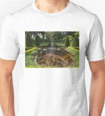 Backyard Oasis Symmetry - Gracious Garden Fountain Unisex T-Shirt