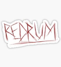 REDRUM - Stephen King's The Shining Sticker