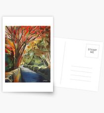 Burning Trees Postcards