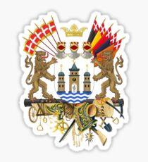 Greater Coat of Arms of Copenhagen  Sticker