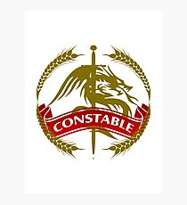 The Constable Coat-of-Arms Photographic Print