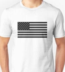 USA Dark Flag Unisex T-Shirt
