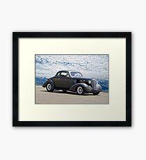 1938 Chevrolet Master Coupe Framed Print