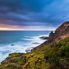 Cape Schanck Sunset on the Mornington Peninsula Victoria, Australia by Ben  Cadwallader