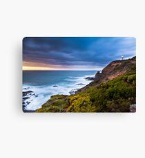 Cape Schanck Sunset on the Mornington Peninsula Victoria, Australia Canvas Print