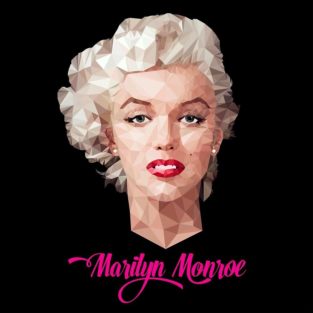 Marilyn Monroe Polyart by camlacey