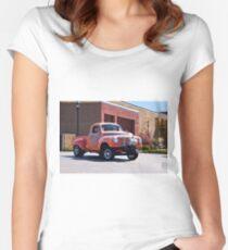 1948 Studebaker 'Gasser' Pickup II Women's Fitted Scoop T-Shirt