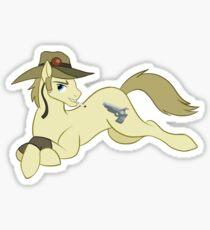 Partial Pony (Hol Horse) Sticker Sticker