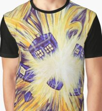 Exploding Time Graphic T-Shirt