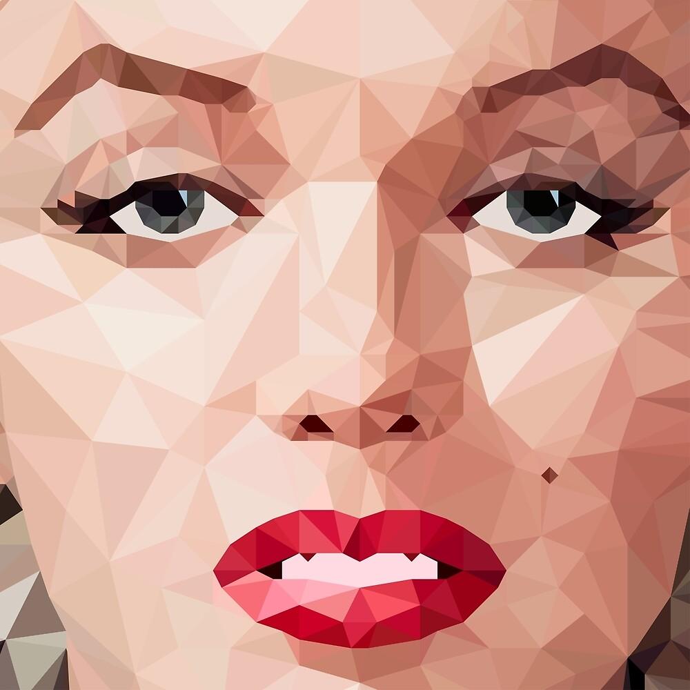Marilyn Monroe Polyart 2 by camlacey
