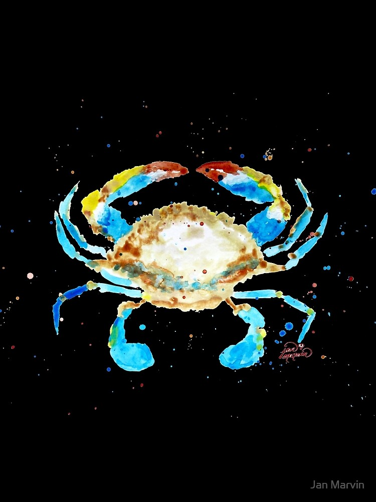 Blue Crab by Jan Marvin by janmarvin