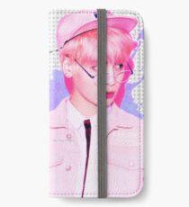 SHINee Jonghyun - Pink Design iPhone Wallet/Case/Skin