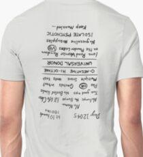Mad Max: Fury Road - Back TATTOO (Upside Down) T-Shirt
