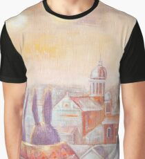 Rabbits in Rome Graphic T-Shirt