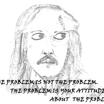 Jack Sparrow with Quote by GinnyWeasley95