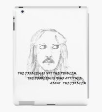 Jack Sparrow with Quote iPad Case/Skin