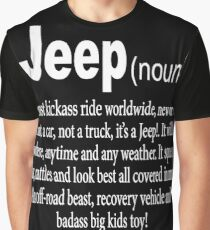 Jeep - Noun Graphic T-Shirt
