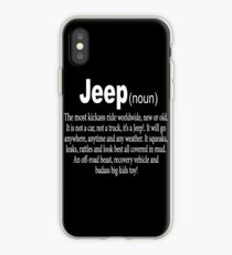 Jeep - Nom Coque et skin iPhone