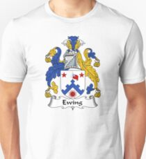 Ewing Coat of Arms / Ewing Family Crest Unisex T-Shirt