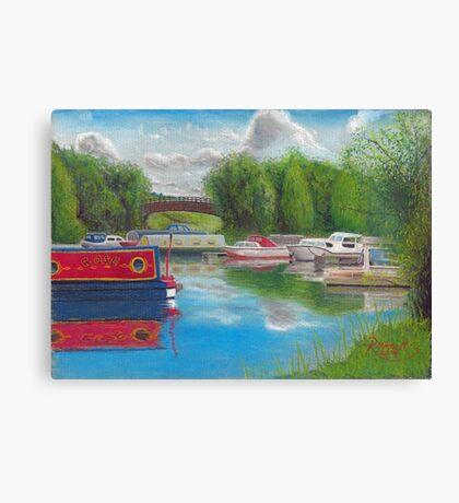 Priory Marina, bedford Canvas Print