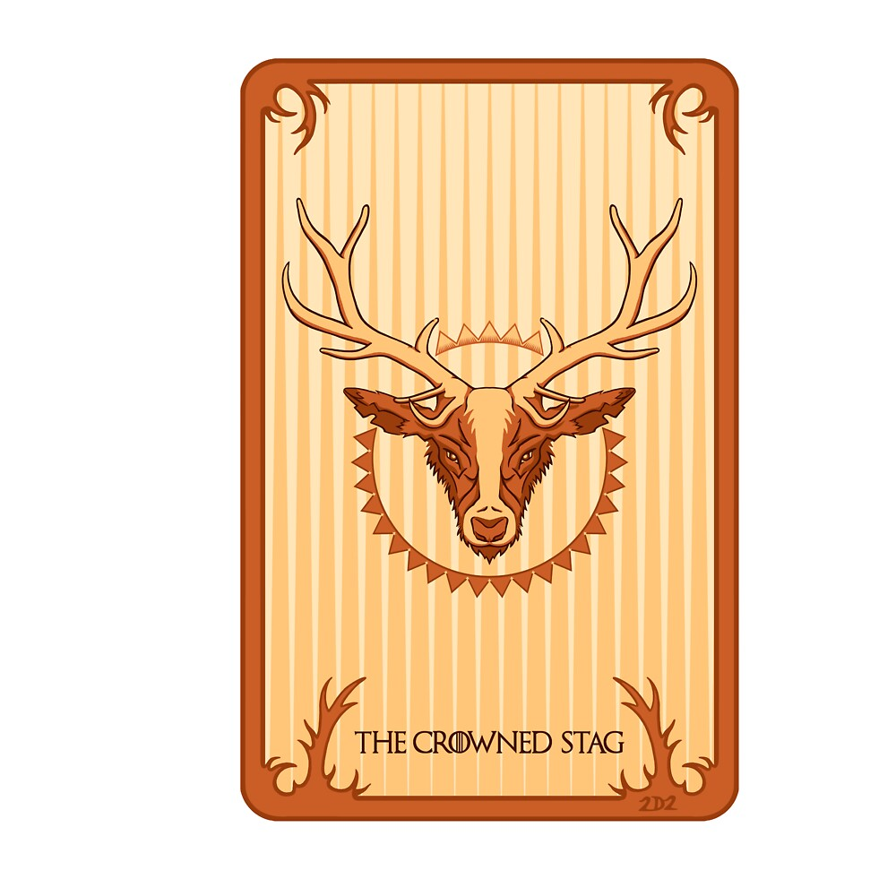 The Crowned Stag by 2D2Design