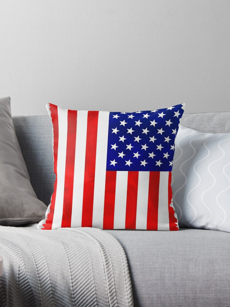 Abstract USA Flag by BuzzEdition