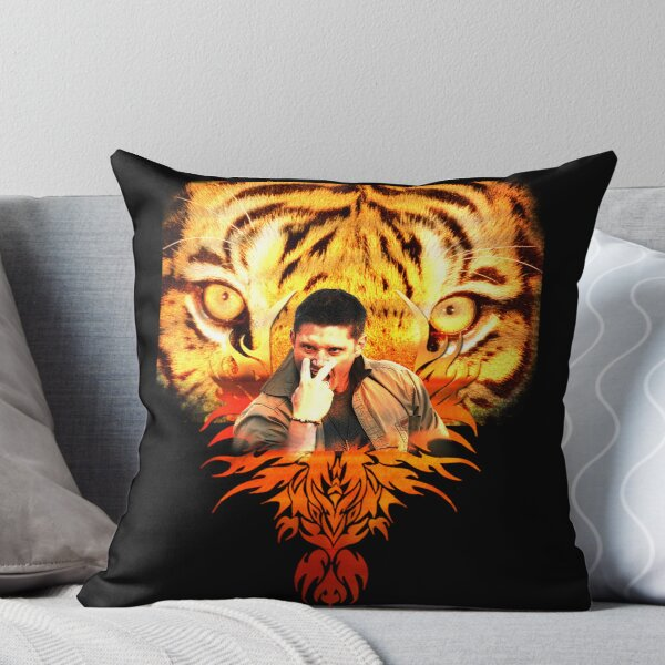 Jensen's eye of the tiger Throw Pillow