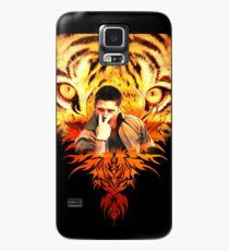 Funda/vinilo para Samsung Galaxy El ojo de Jensen del tigre