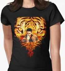 Jensen's eye of the tiger Women's Fitted T-Shirt