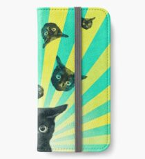 Cat Explosion  iPhone Wallet/Case/Skin