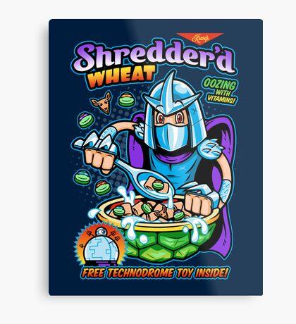 Shreddered Wheat Metal Print