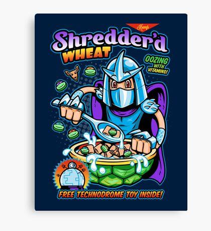 Shreddered Wheat Canvas Print