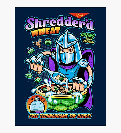 Shreddered Wheat Photographic Print