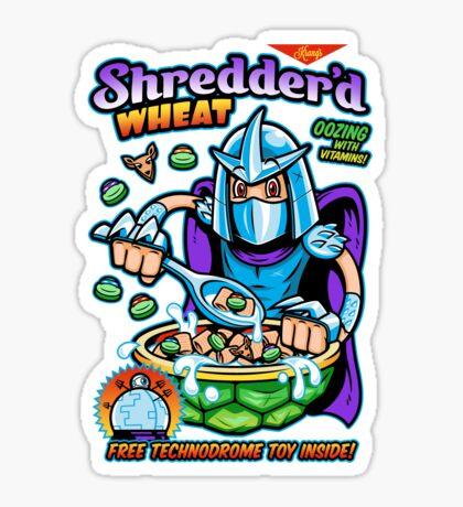 Shreddered Wheat Sticker