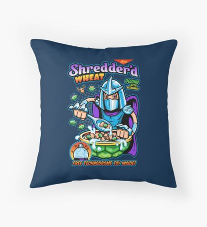 Shreddered Wheat Throw Pillow