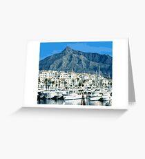 Marbella Greeting Card