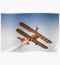 Breitling Wing Walker handstand Poster
