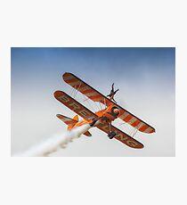Breitling Wing Walker handstand Photographic Print