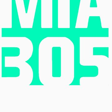 MIA 305 Neon by 305clothing