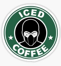 Mortal Kombat • Sub Zero • Iced Coffee Sticker